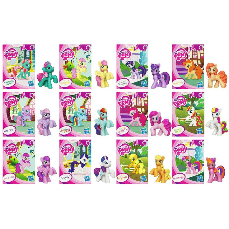 My Little Pony, Collectible Pony Set - perfect for Abbys birthday ...