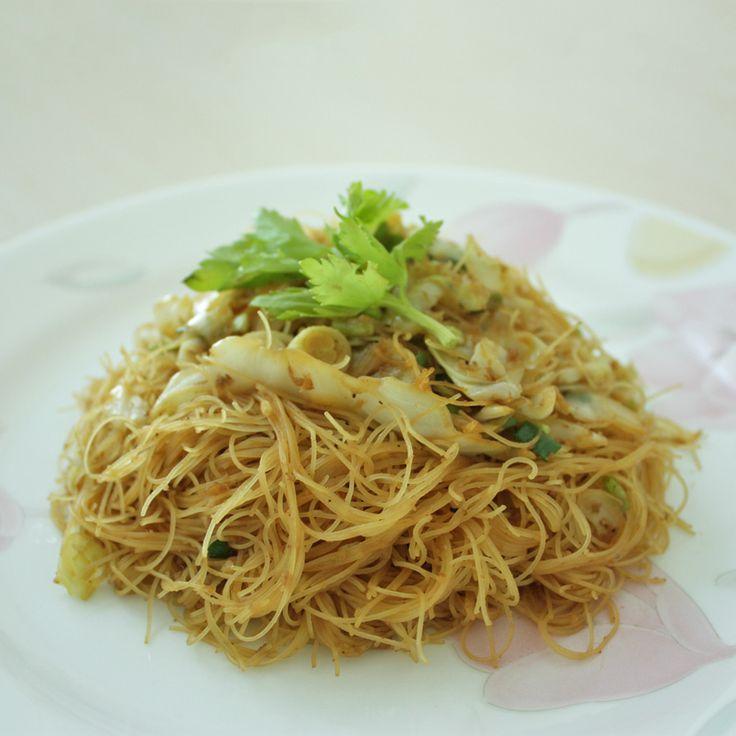 xiamen style fried vermicelli recipe recipes dishmaps xiamen style