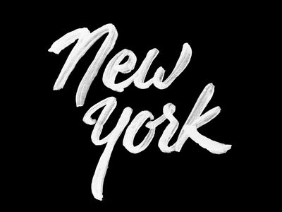 New York Type Design Pinterest