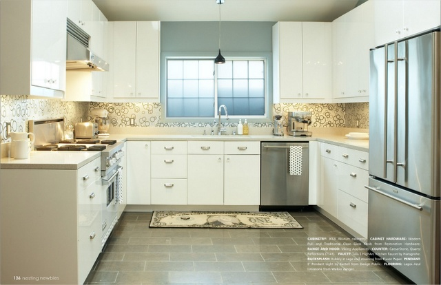 Kitchen High Gloss Ikea Cabinets I D Architecture Pinterest