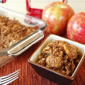 Grilled Coconut-Apple Crisp Recipes — Dishmaps