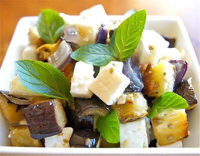 Roasted Eggplant with Feta | Vegatables | Pinterest