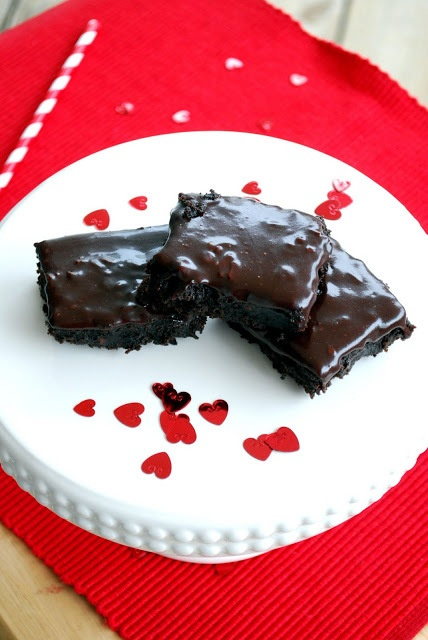 Raspberry Truffle Brownies | chocolate, chocolate and more | Pinterest