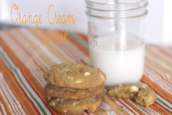 Orange Cream Cookies | Recipes | SWEETS & TREATS | Pinterest