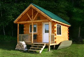 Build Your Own Log Cabin Compact Living Pinterest