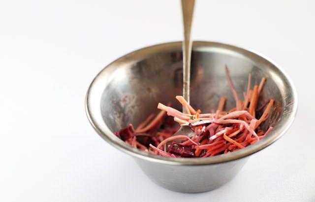 Root vegetable coleslaw | Recipe