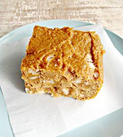 Brown Butter Sweet Potato Blondies | Holidays | Pinterest