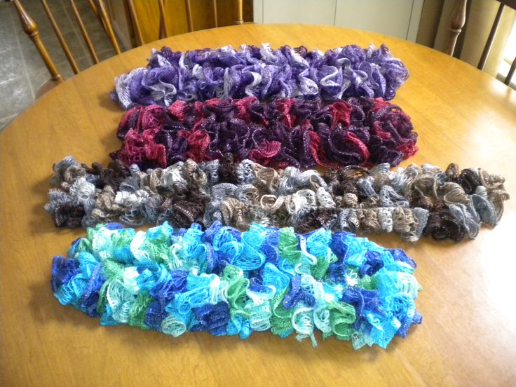 Crochet Pattern For Scarf Using Sashay Yarn : Pinterest: Discover and save creative ideas
