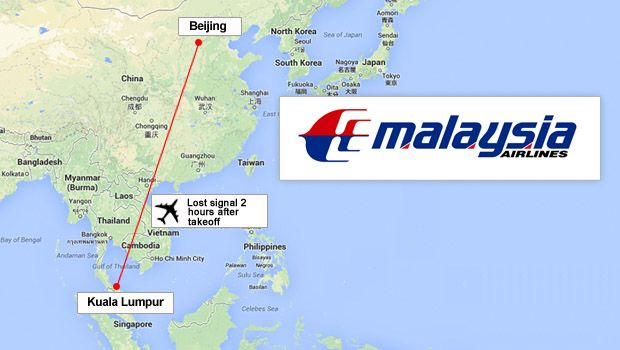 Malaysia Airlines loses contact with plane en route to Beijing with