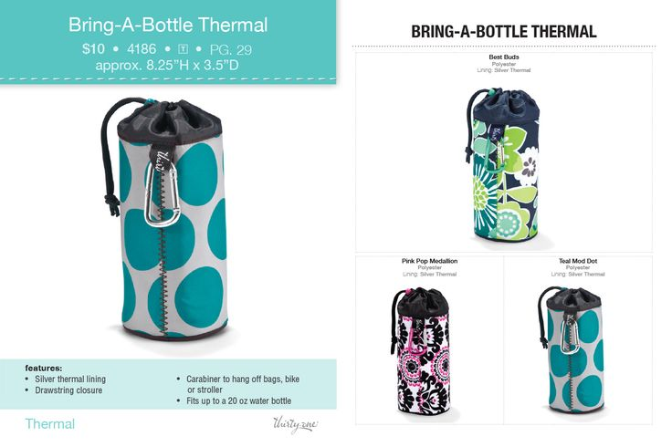 Bring a bottle thermal thirty one thirty one pinterest