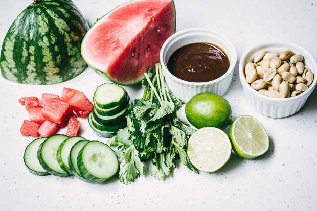 Quick, Refreshing Watermelon Cucumber Salad Recipes — Dishmaps
