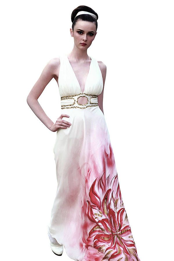 Pin by wedding heart on wedding dresses pinterest for Painted on wedding dress