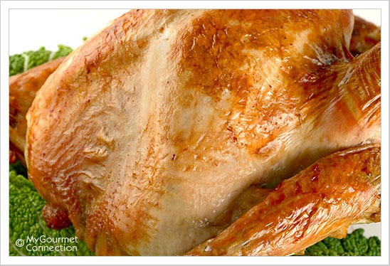 Roasted Brined Turkey with Pan Gravy: This recipe utilizes a lightly ...