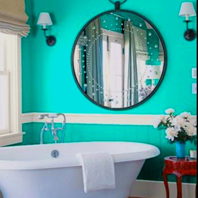 Tiffany Blue Bathroom Designs : Tiffany blue bathroom  Design that I love  Pinterest