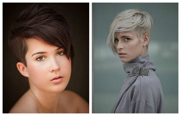 Стрижки на короткие волосы 2017-2018 с челкой боб