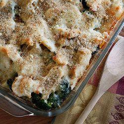 Chicken Divan, Lightened Up | Sunday Comfort Foods! | Pinterest