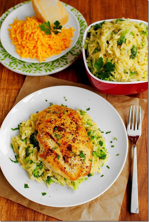 Broccoli And Orzo Recipe — Dishmaps