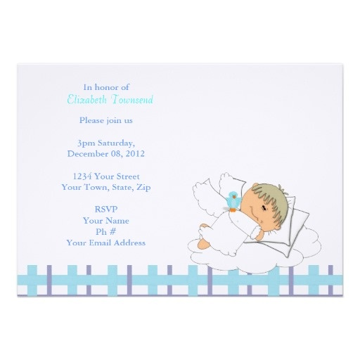 Boy Babyshower Invitations with awesome invitation layout