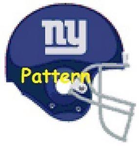 Crochet - Handmade Items: Congratulations New York Giants
