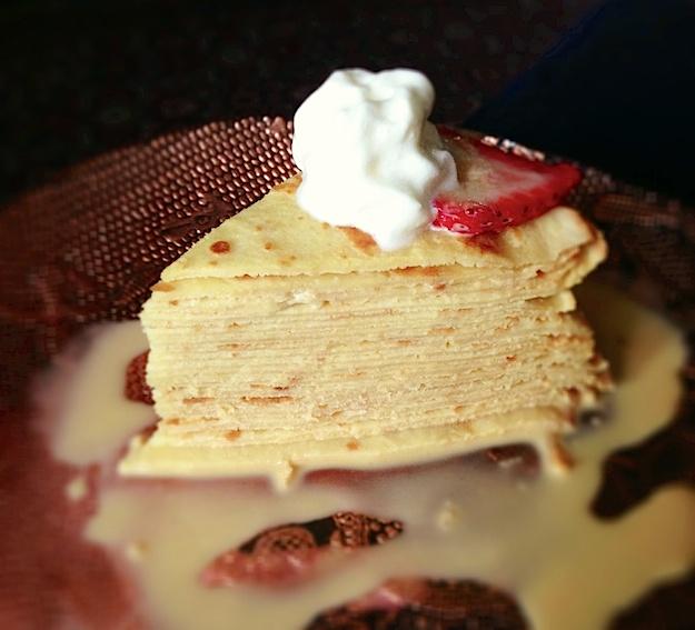 Crepe Cake - Dulce de Leche | Good Eats | Pinterest