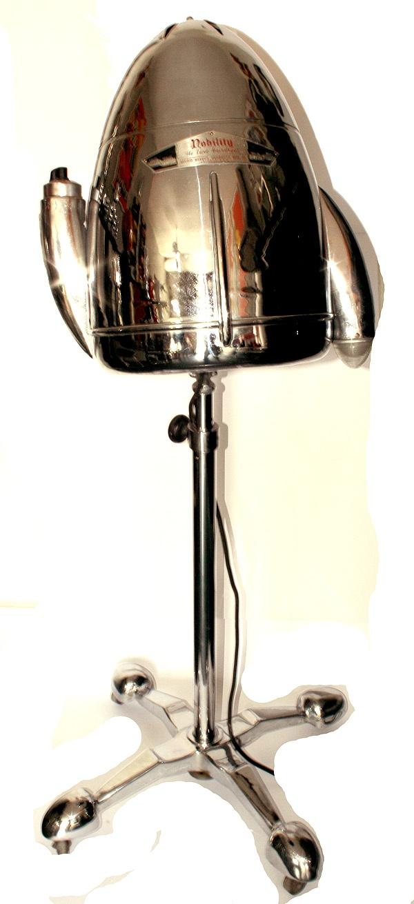 Hair Dryer 1920s ~ Art deco streamline hair dryer s