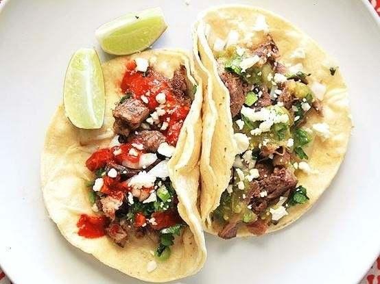 Tacos de lengua | good looking foods | Pinterest