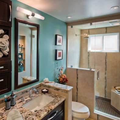 Teal Bathroom Home Decor Ideas Pinterest