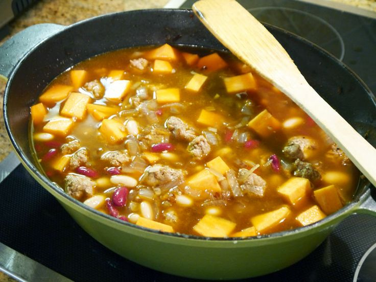 ... Sausage and Sweet Potato Soup | Polidori Andouille Sausage