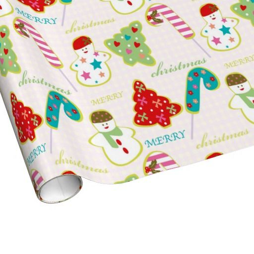 Merry Christmas Gift Wrap Paper | Custom Wrapping Paper | Pinterest