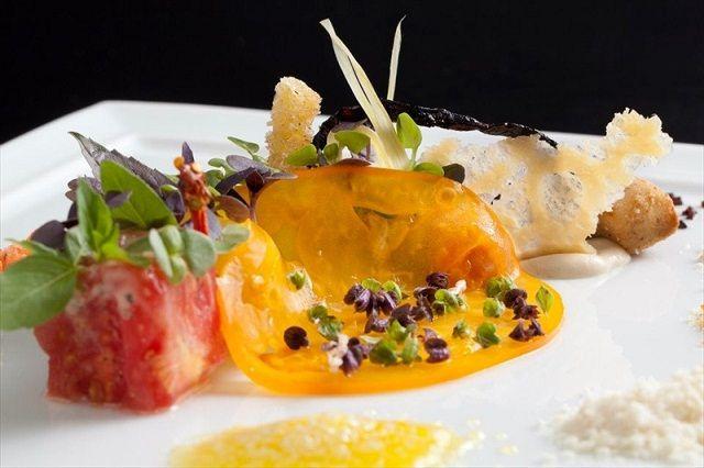 Colorful plate alinea restaurant chefs food pinterest for Alinea chef de cuisine