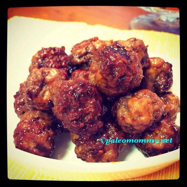 Paleo Mommy : Honey Chipotle Meatballs | YUMMY!!! | Pinterest