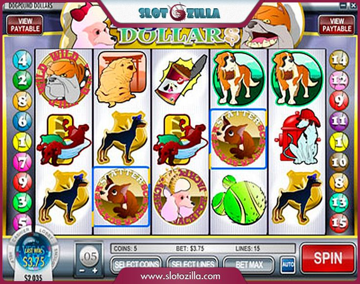 Dog Pound™ Slot Machine Game to Play Free in Rivals Online Casinos