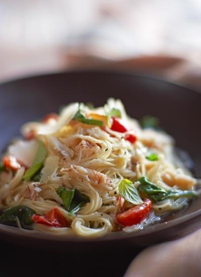 Crab Pasta | Sustenance | Pinterest