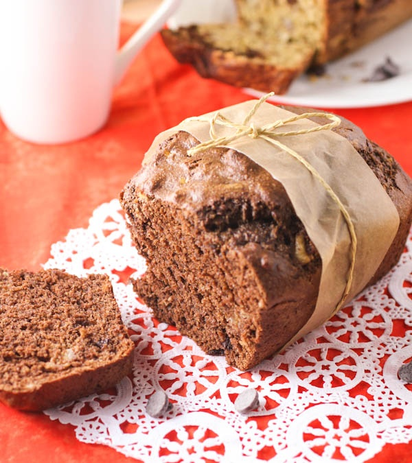 ... Chocolate Banana Bread | citronlimette #chocolate, #Banana, #Bread