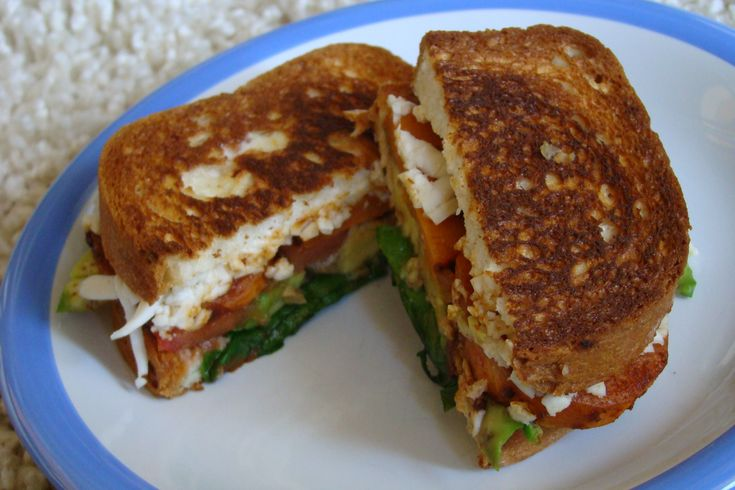 ... Potato & Avocado Grilled Cheese Sandwich (aka Grilled Cheese Nirvana