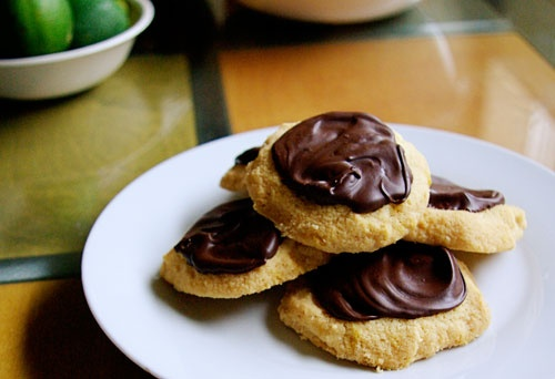 Chocolate Orange Shortbread Cookies | Sweet Ideas | Pinterest