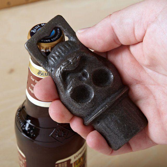 Voodoo Skull Beer Bottle Opener | Bottle openers | Pinterest