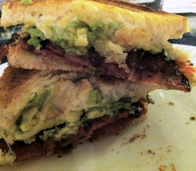 Bacon and Guacamole Grilled Cheese   Future Recepies   Pinterest