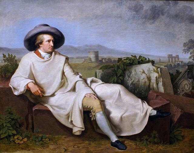 Goethe in der Romanische Campagna