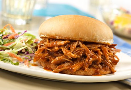 Slow-Cooked Pulled Pork Sandwiches | Recipe