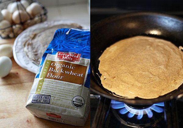 Yummy Mummy Kitchen: Brunch - gluten free crepes with buckwheat flour.
