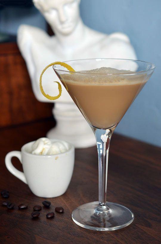 Drink Recipe: Caffe Shakerato con Gelato
