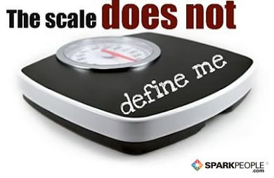 """""""Like"""" or Repin this if you agree! """"The scale does not define me."""""""