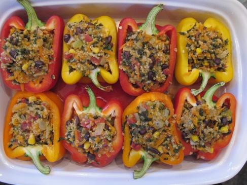 Stuffed peppers recipes pinterest