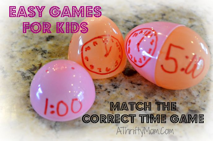 HELP KIDS LEARN TO TELL TIME ~ FUN CLOCK GAME FOR KIDS