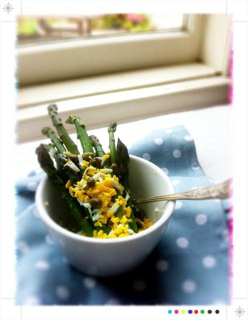 Toast: Bookshelf: Asparagus Mimosa, from Ottolenghi's Plenty