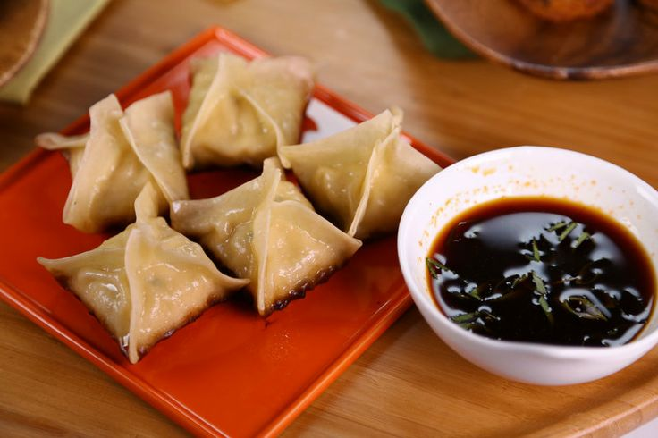 Pan Fried Dumpling Carla Hall | food I wish I could cook | Pinterest
