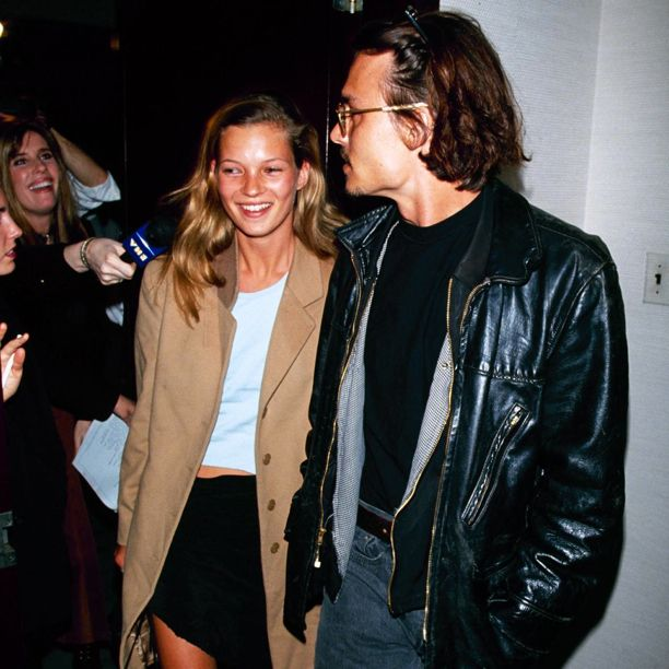 kate moss on dating johnny depp