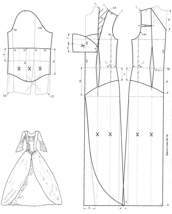 Как сшить бальное платье своими руками 41