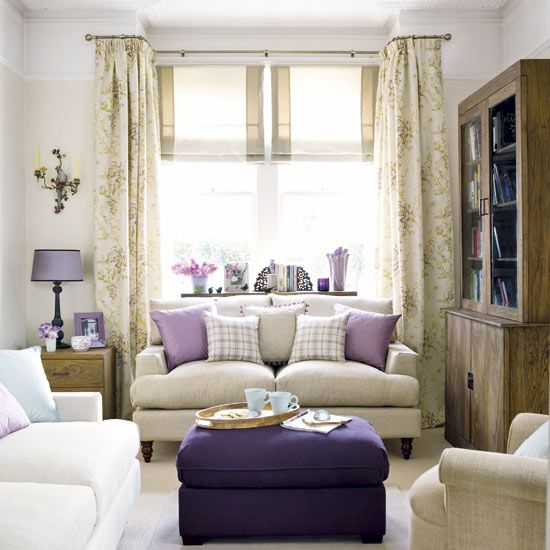 Roomenvy luscious lilac living room living space Lilac living room ideas